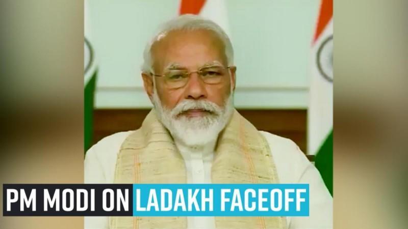 PM Modi auf Ladakh Faceoff