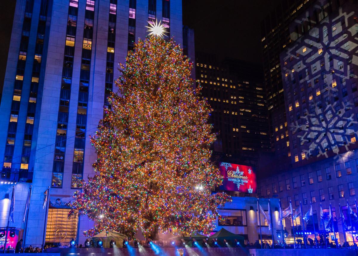 Rockefeller Center Weihnachtsbaum zurückkehren, möglicherweise ohne Menschenmassen