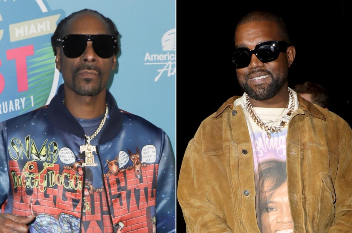 """Snoop Dogg galt als """"Heuchler"""" für die Zusammenarbeit mit Kanye West"""