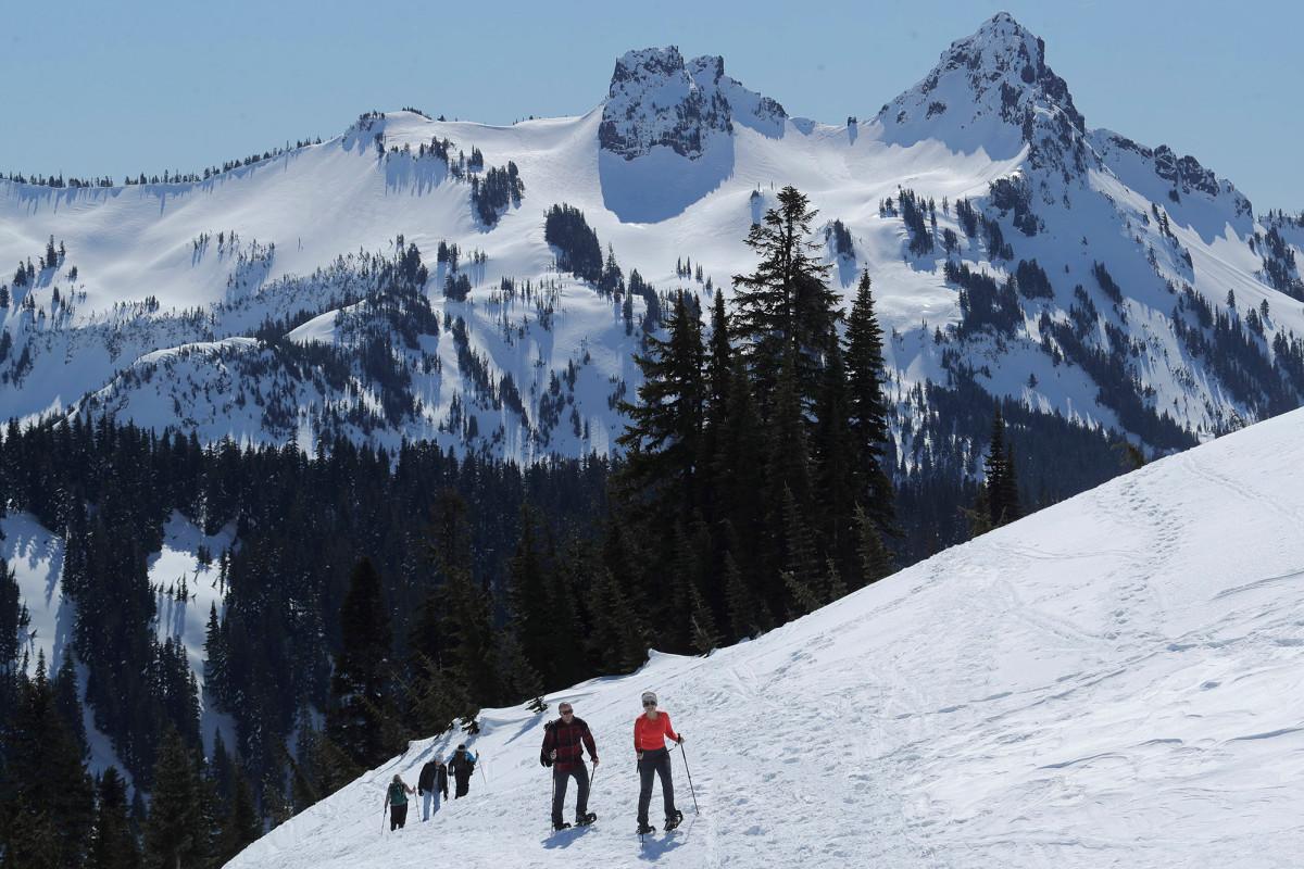 Suche nach drei vermissten Mount Rainier-Wanderern