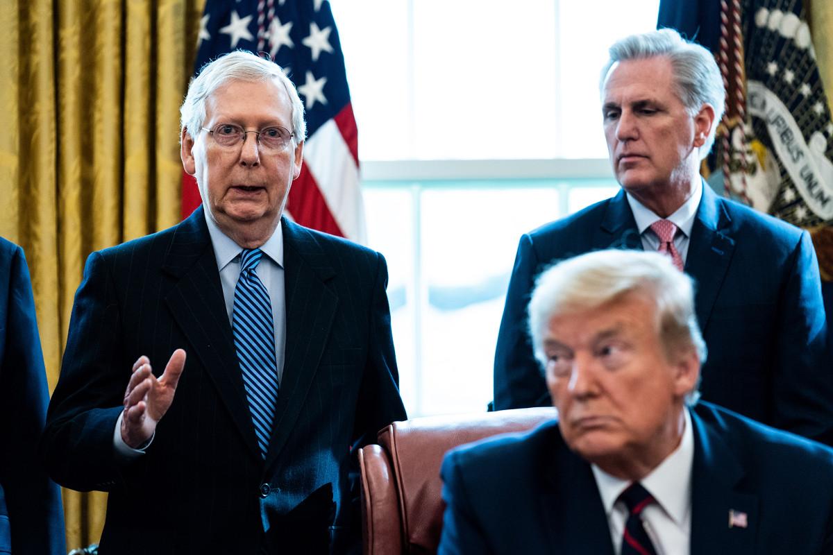 Trumps Infrastrukturplan stößt auf GOP-Opposition im Senat