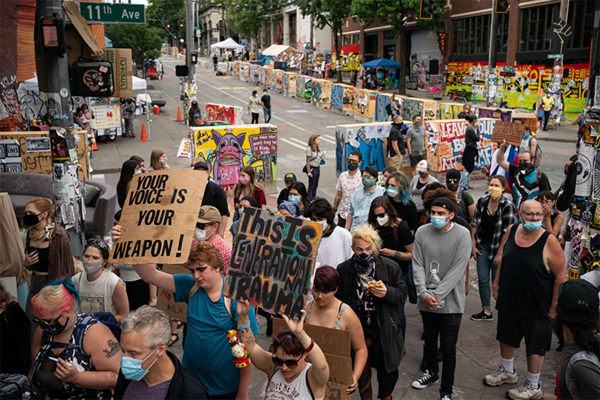 Unternehmen und Einwohner von Seattle verklagen die Stadt über der CHOP-Zone