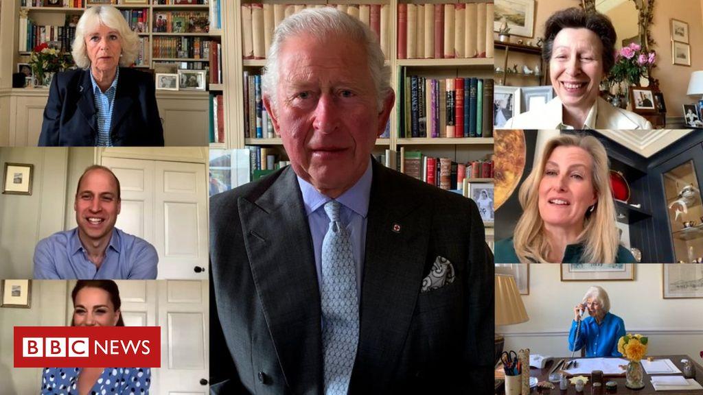 Coronavirus: Wie sich die königliche Familie in der Sperrung verändert