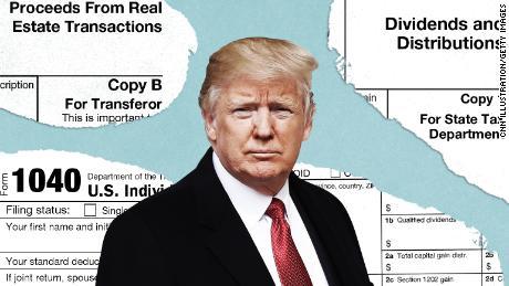 Der Einsatz von Trumps Steuererklärung könnte nicht höher sein