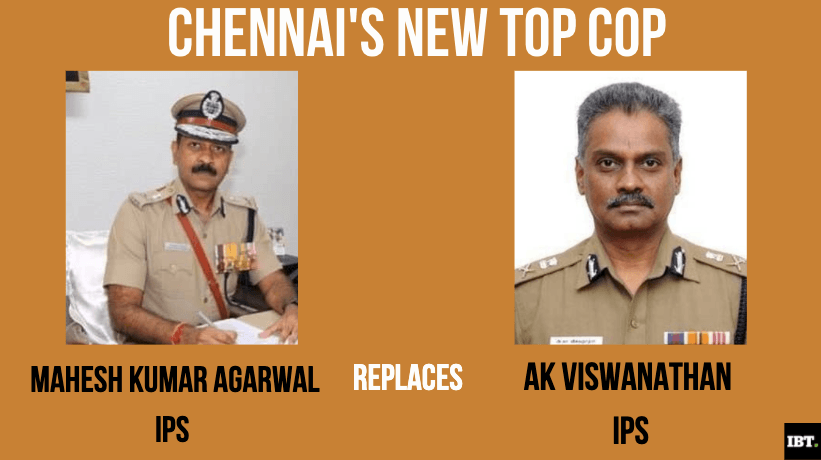 Who is Mahesh Kumar Agarwal, new Chennai Police Commissioner; List of IPS officers
