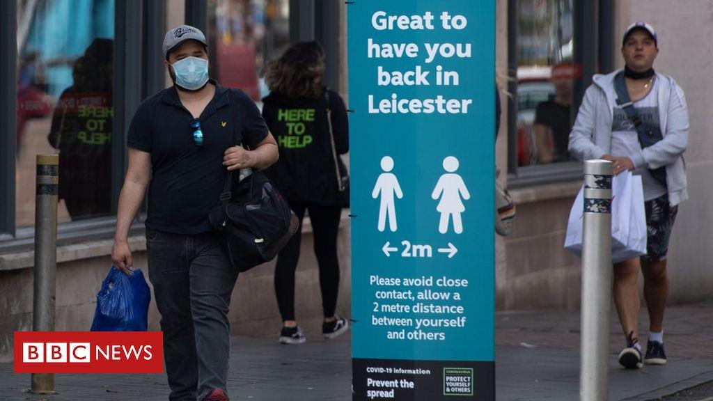 """Coronavirus: """"Keine offensichtliche Quelle"""" für den Ausbruch von Leicester Covid-19"""