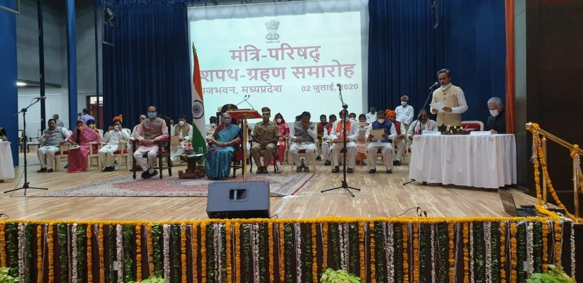 Madhya Pradesh Cabinet Expansion: 28 ministers including 12 from Scindia camp sworn in