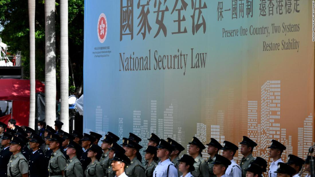 Der Senat genehmigt das endgültige Sanktionsgesetz zur Bestrafung Chinas über Hongkong