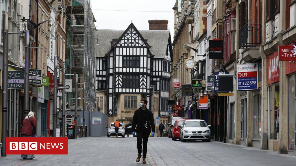 """Leicester Lockdown: """"Mehr Polizei als Silvester"""" auf Patrouille"""