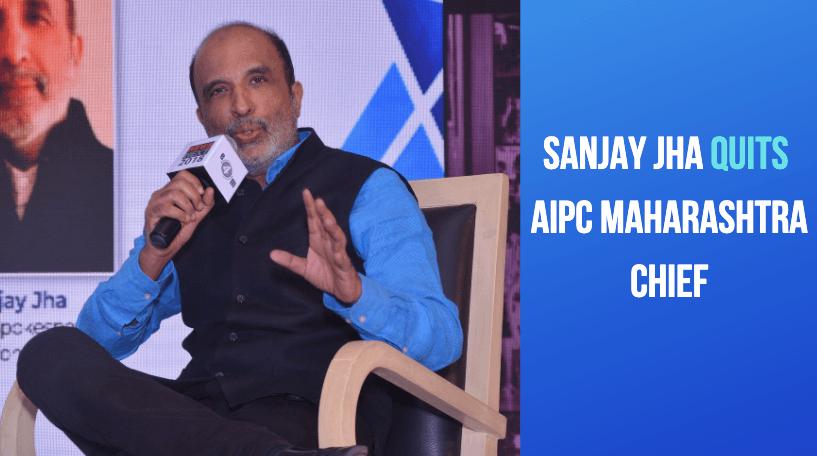 Sanjay Jha quits AIPC Maharashtra chief; cites