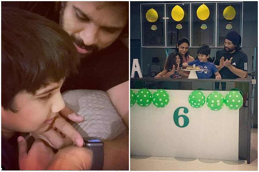 Allu Arjun shares pic of daughter