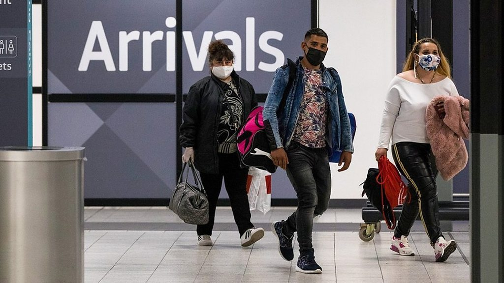 Coronavirus: Bei Passagieren, die in Schottland ankommen, werden keine Quarantänekontrollen durchgeführt