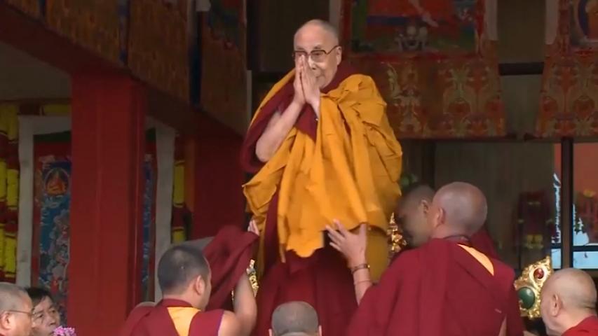 Dalai Lama visits monastery in disputed Arunachal Pradesh region