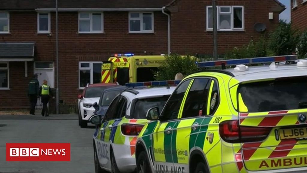 Zwei Rettungssanitäter in Wolverhampton erstochen