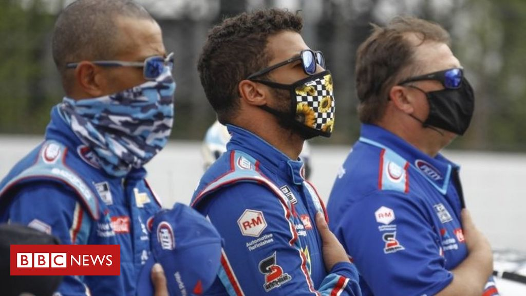 Bubba Wallace: Der trotzige Tweet des Nascar-Fahrers über Trumps 'Hass'