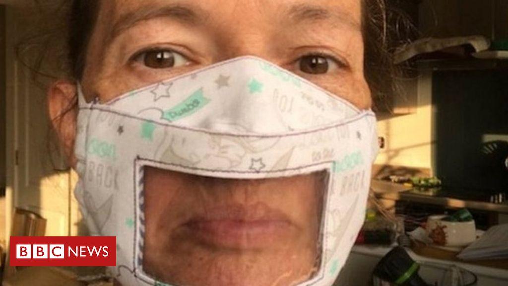 Coronavirus: Klare Masken, die Gehörlosen beim Lippenlesen helfen sollen