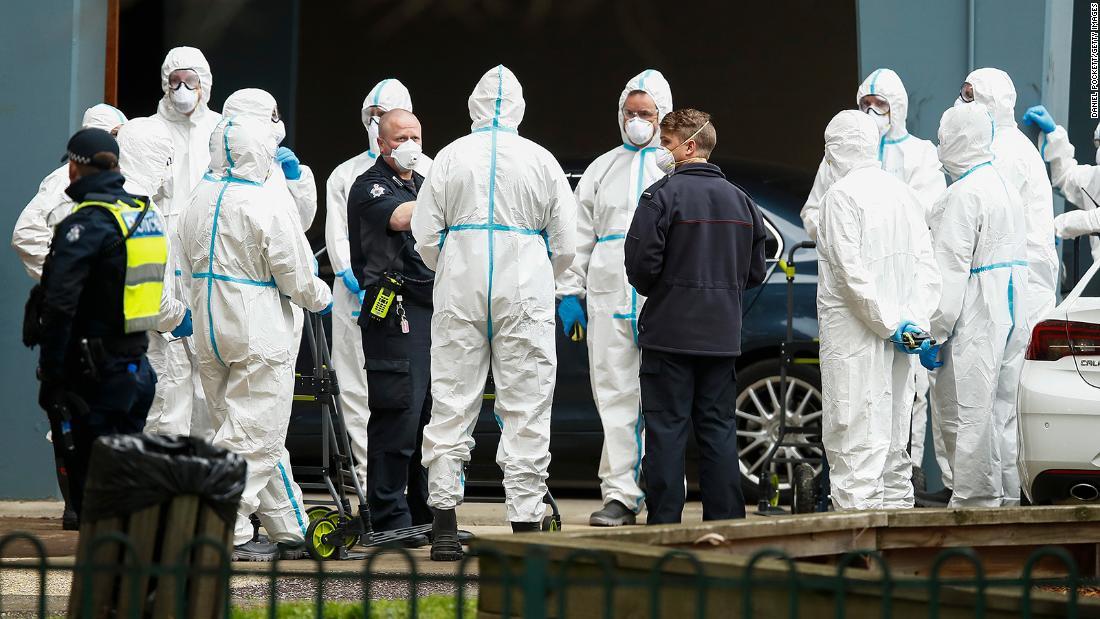 Melbourne wird die sechswöchige Sperrung des Coronavirus wieder einführen, während Australien gegen die potenzielle zweite Welle kämpft