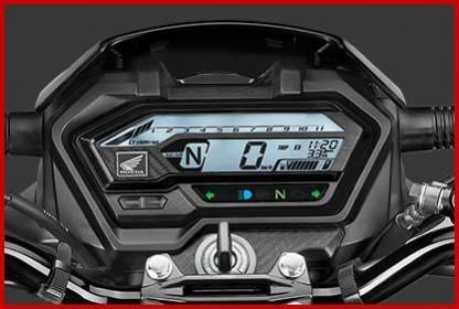 Honda XBlade BS6 Digitalmesser