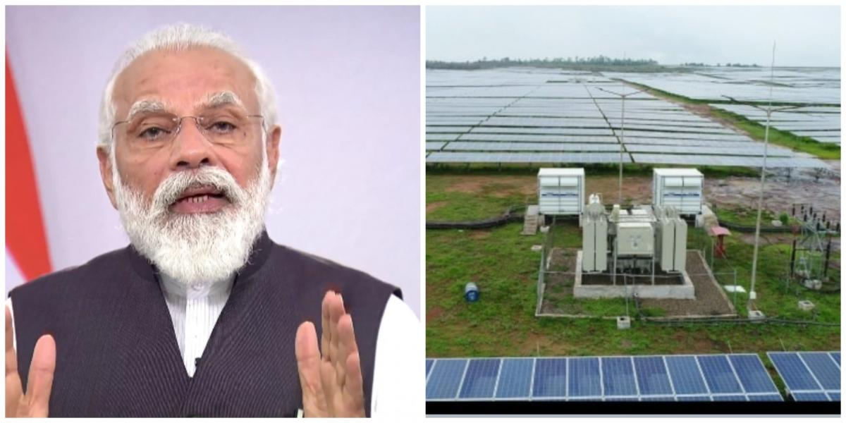 PM widmet Rewa Ultra Mega Solar Power-Projekt der Nation (2. Ld)