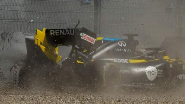 Formel 1: Max Verstappen am schnellsten im GP der Steiermark, als Daniel Ricciardo stürzt