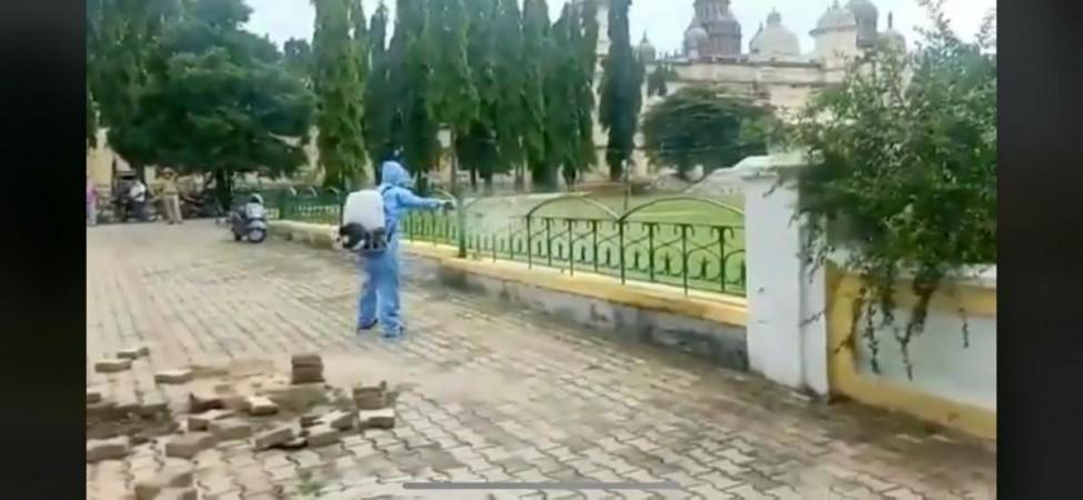 Die Sanierung des Mysore-Palastes beginnt