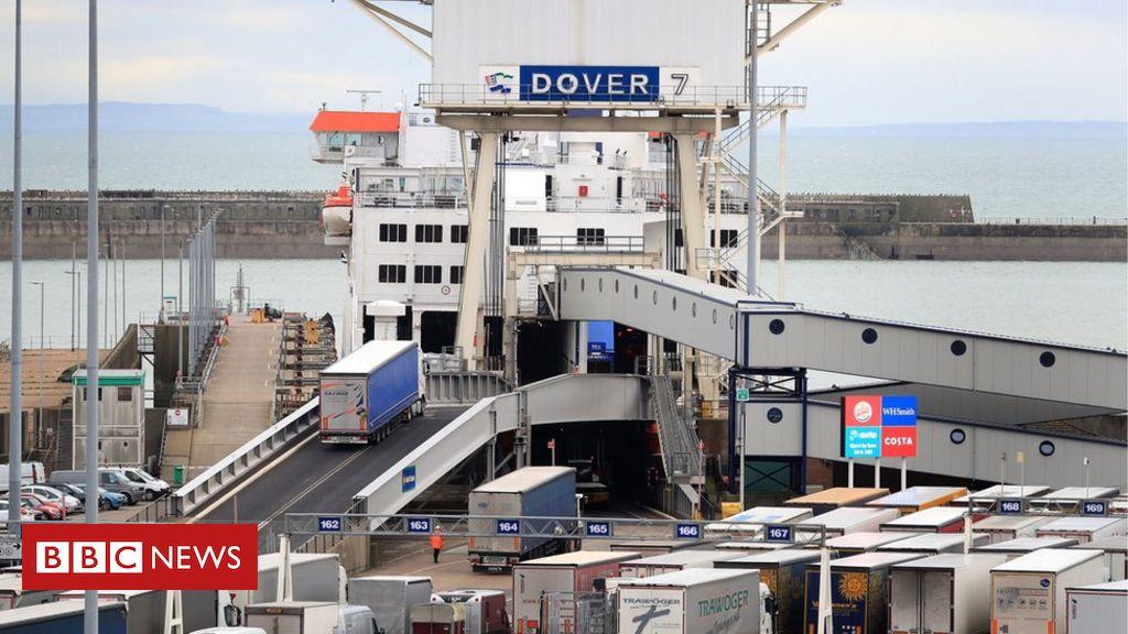 Brexit-Grenzkontrollen, um einen Schub von 705 Millionen Pfund zu erhalten