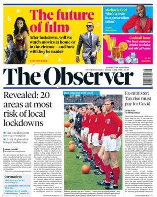 Guardian Titelseite 12/07/20