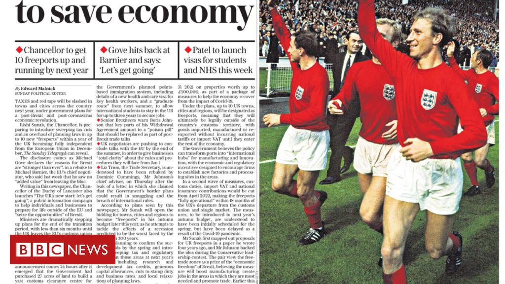 Schlagzeilen in der Zeitung: Coronavirus-Hotspots und Hommagen an die Fußballlegende