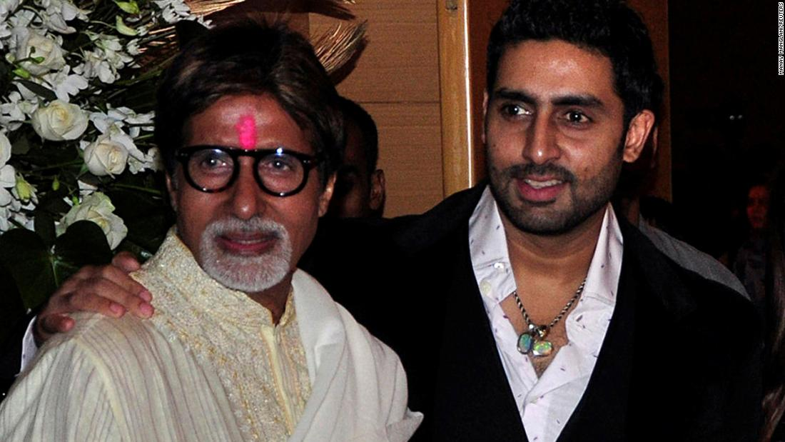 Amitabh Bachchan und Verwandte, die wegen Coronavirus-Fällen in Indien ins Krankenhaus eingeliefert wurden