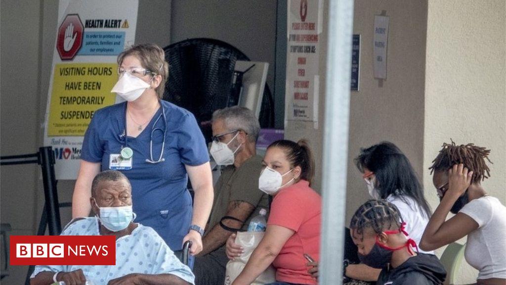 Coronavirus: Florida stellt mit 15.299 einen neuen täglichen Fallrekord auf