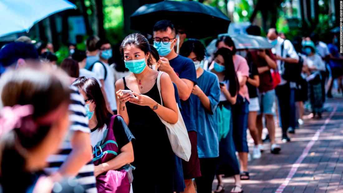 Hongkong: 600.000 Stimmen in der Opposition trotz Befürchtungen eines neuen Sicherheitsgesetzes