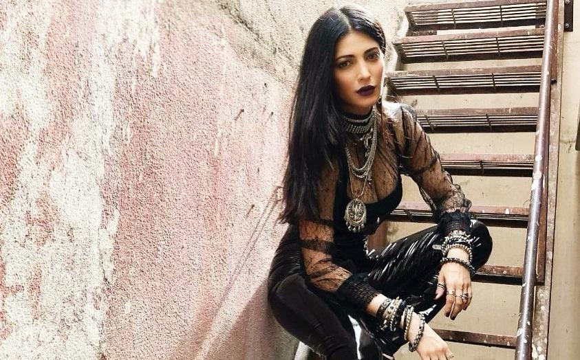 Shruti Haasan excited to be only woman in
