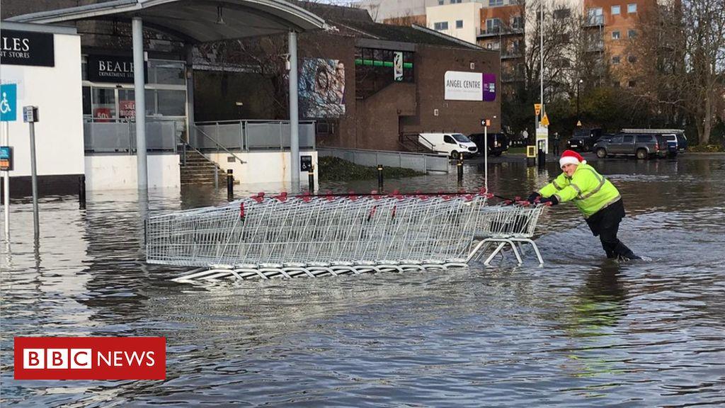 Natürliche Lösungen wurden verstärkt, um Überschwemmungen vorzubeugen