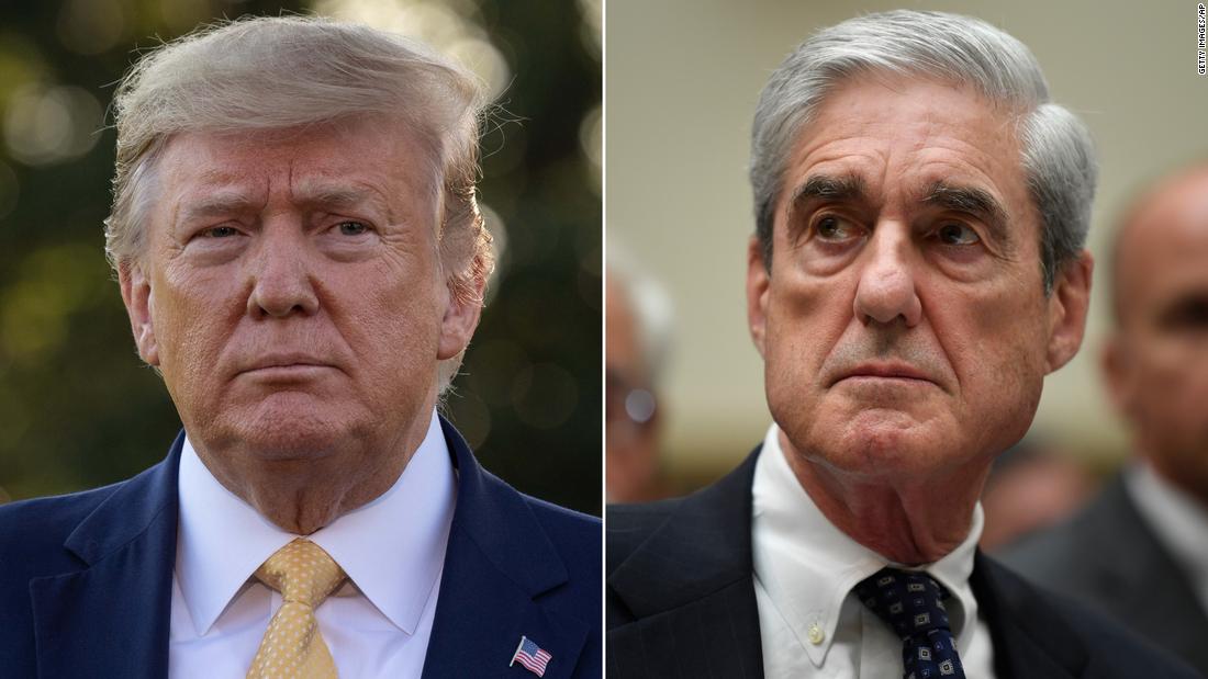 Robert Mueller erwog, sich früher gegen die Angriffe von Trump und Barr auszusprechen