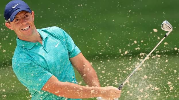 Tiger Woods und Rory McIlroy machen solide Memorial-Starts, als Tony Finau führt