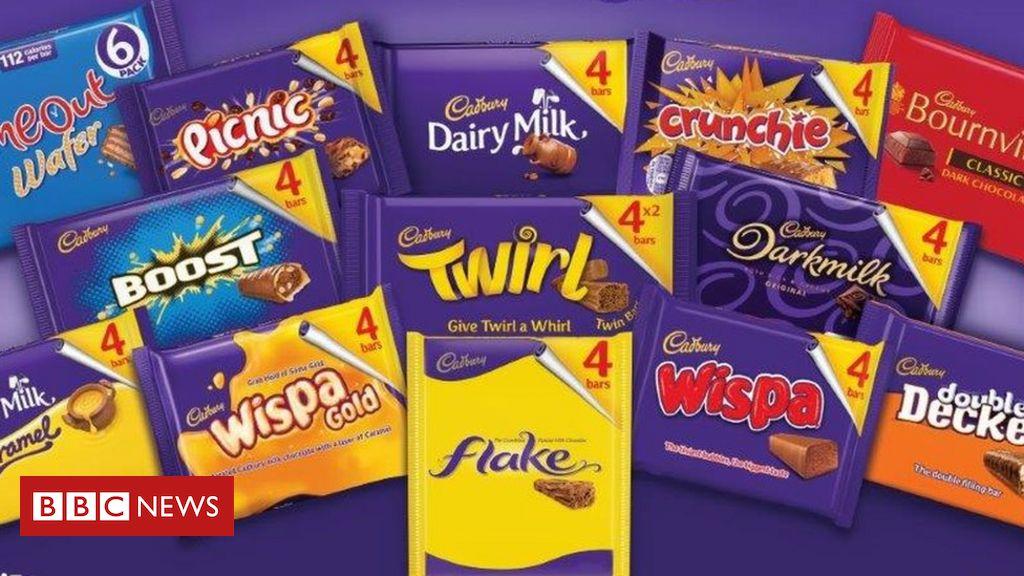 """Cadbury wird der """"Schrumpfung"""" beschuldigt, wenn die Packungen kleiner werden"""