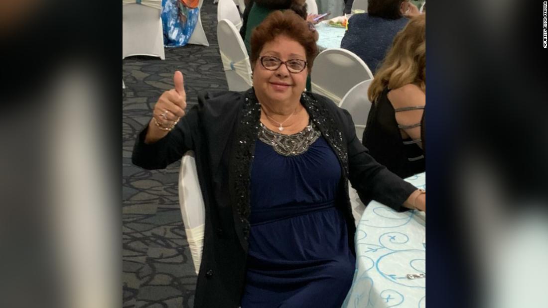 Die Coronavirus-Patientin aus Florida ging innerhalb weniger Tage von der Diagnose zum Sterben in den Armen ihrer Tochter über