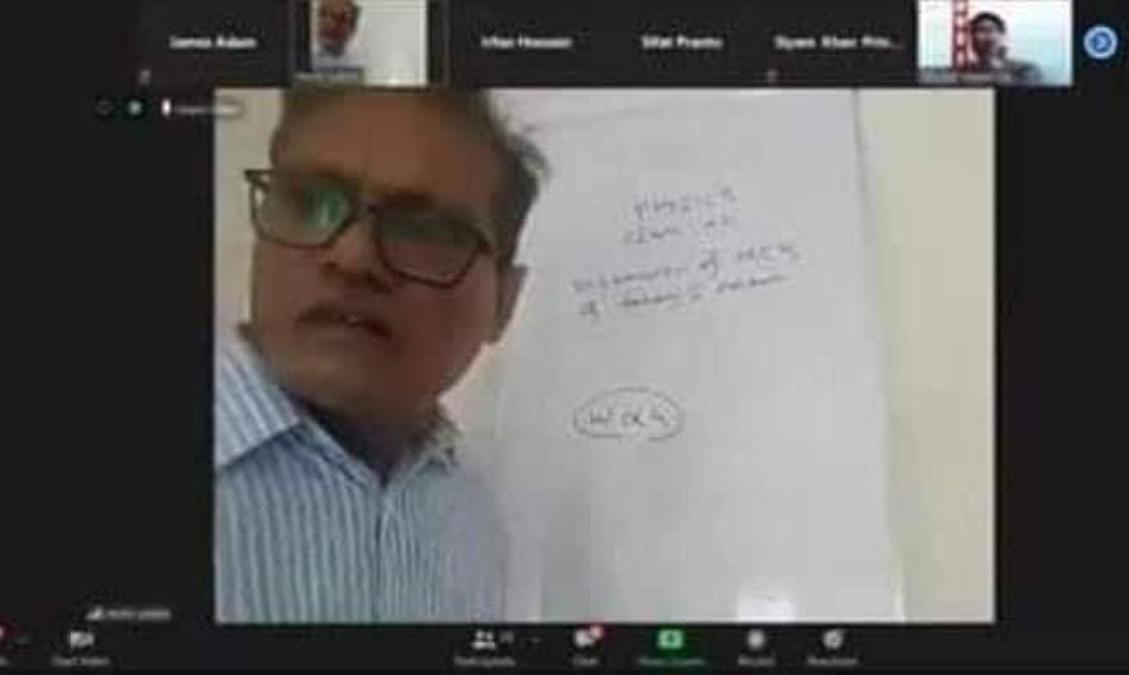 Teacher gets bullied during online class