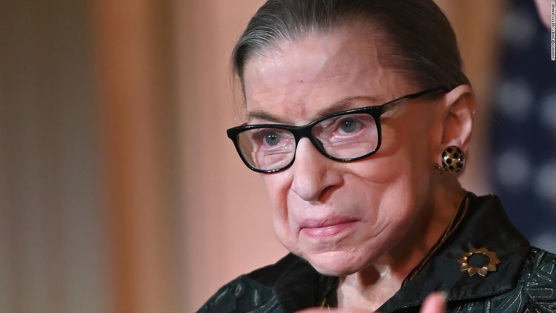 Ruth Bader Ginsburg kündigt ein erneutes Auftreten von Krebs an und bleibt am Obersten Gerichtshof