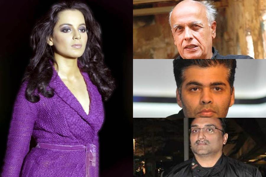 Kangana Ranaut: Why is Mumbai Police not summoning — Aditya Chopra, Mahesh Bhatt, Karan Johar?