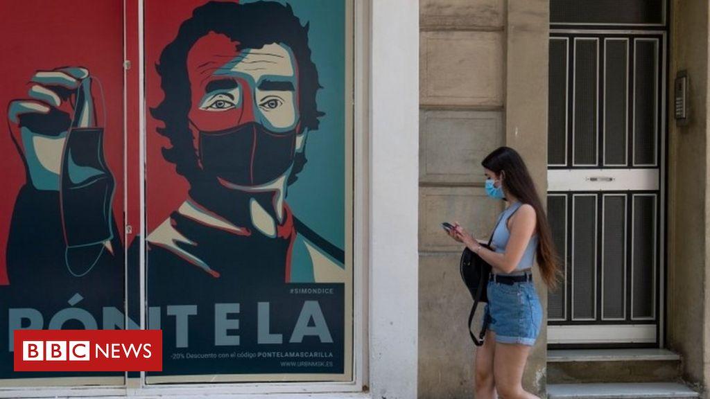 Die Coronavirus-Spitze setzt sich inmitten neuer katalanischer Beschränkungen fort