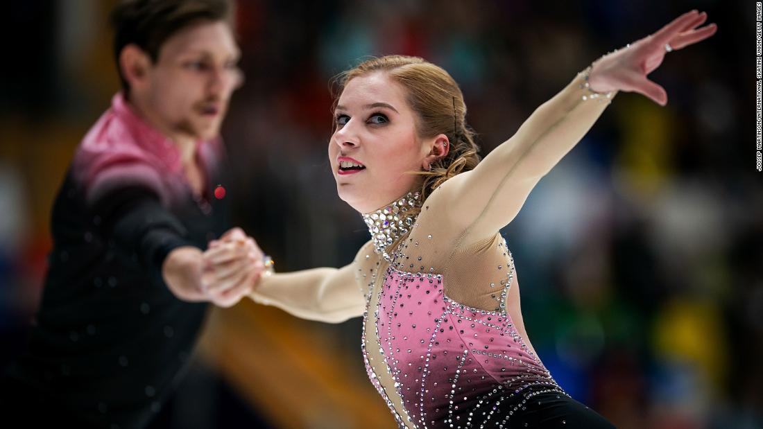Ekaterina Alexandrovskaya: Olympische Eiskunstläuferin stirbt mit 20 Jahren