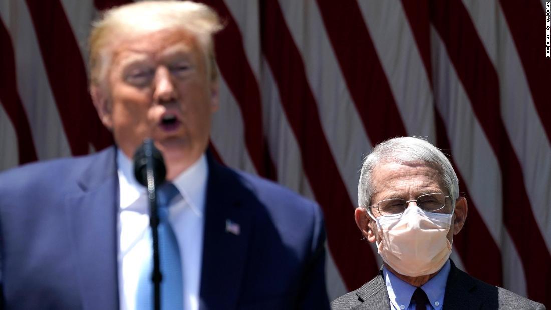 """Trump nennt Fauci """"ein bisschen alarmierend"""", da immer mehr Fälle von Coronaviren auftreten"""