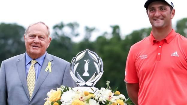 Jon Rahm gewinnt Memorial und holt sich mit Rory McIlroy den ersten Platz der Welt