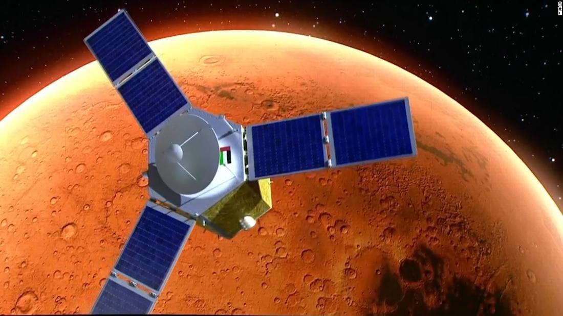 Die VAE haben die erste Marsmission der arabischen Welt erfolgreich gestartet