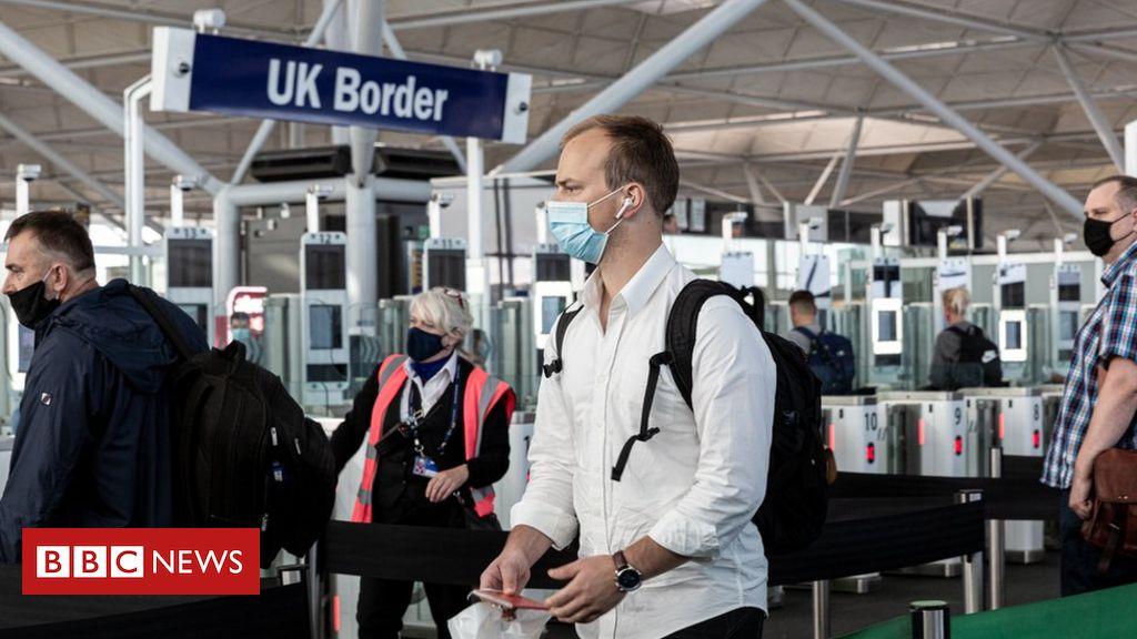 Coronavirus: Der Auftragsbestand für britische Passanträge erreicht 400.000
