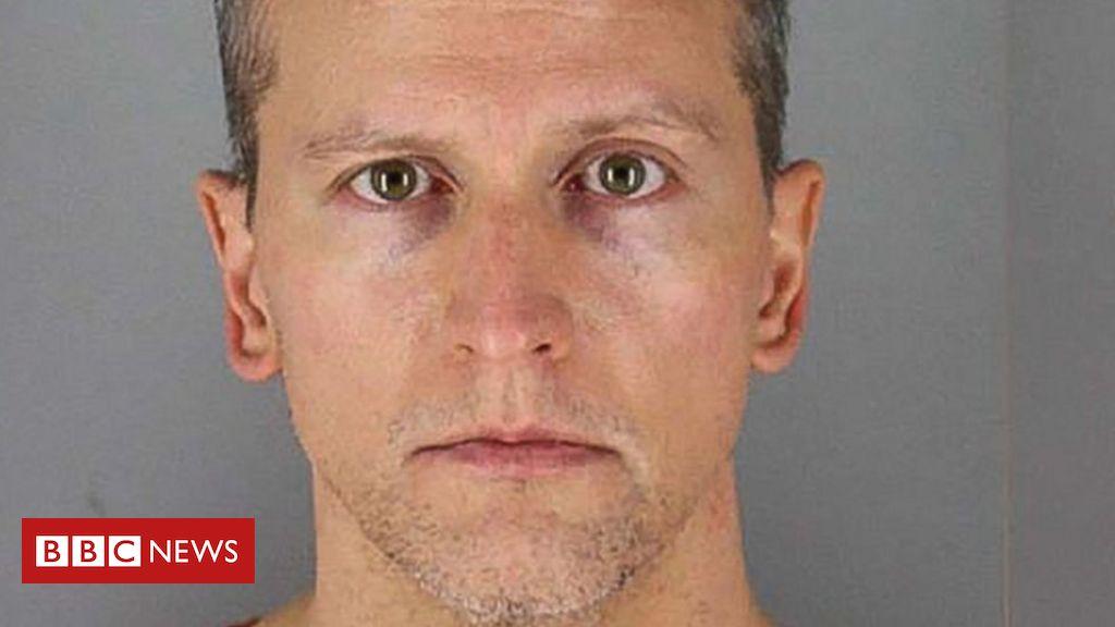 Der Mordverdächtige von George Floyd, Derek Chauvin, wurde wegen Steuerhinterziehung angeklagt