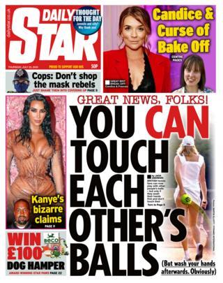 Daily Star 23. Juli 2020