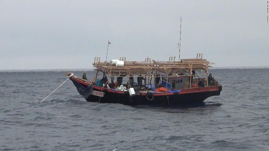 """Nordkoreas """"Geisterschiffe"""" wurden in Japan wegen Chinas """"dunkler"""" Fischereiflotte angespült, sagt NGO"""