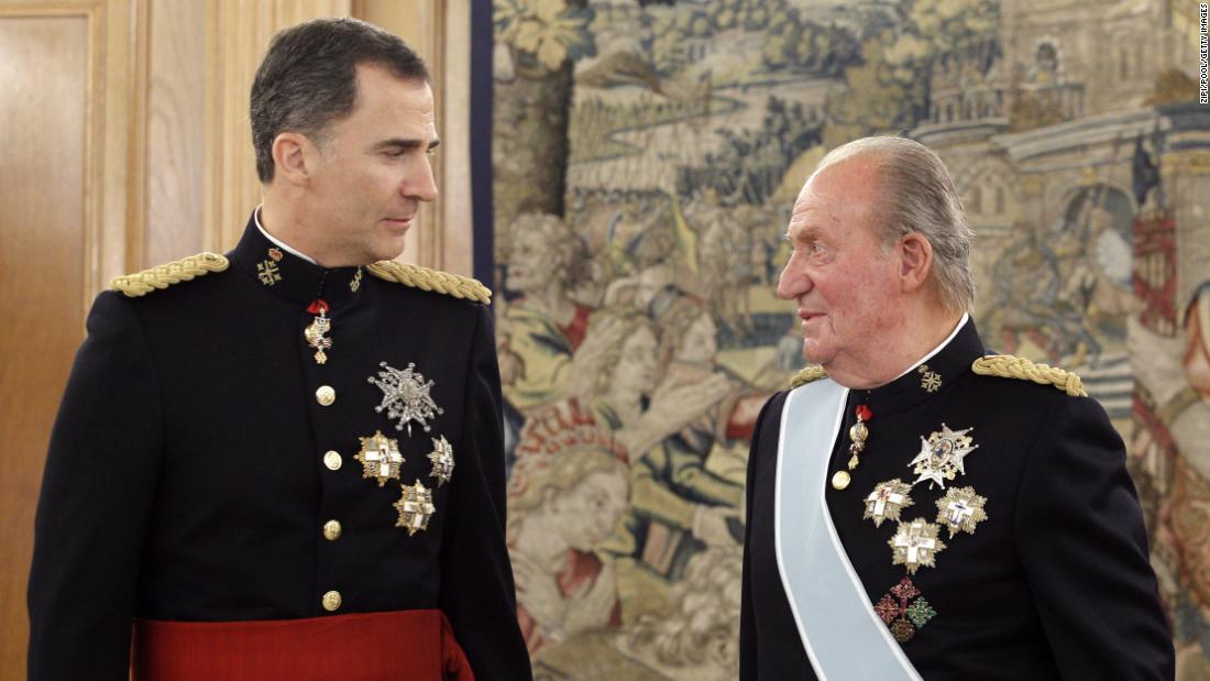 Spaniens König distanziert sich von seinem Vater unter dem Vorwurf, 100 Millionen Dollar vom ehemaligen saudischen Monarchen überwiesen zu haben